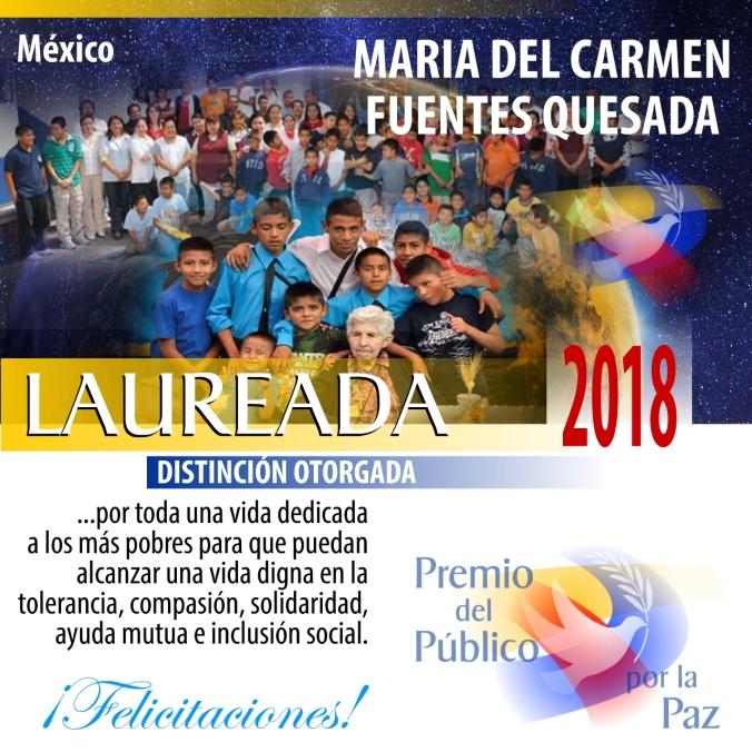 Maria del Carmen Fuentes Quesada PPP 2018